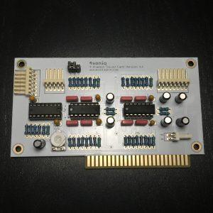 4Soniq 4-Channel Sound Card - Face