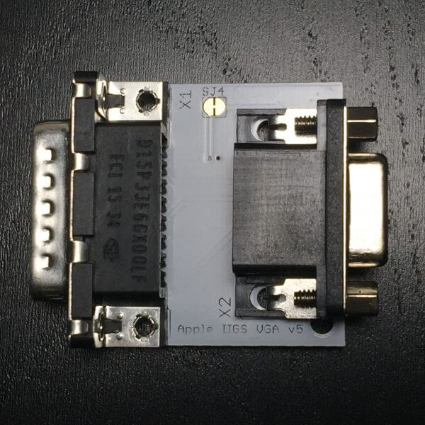 Apple IIGS VGA Adapter - Face