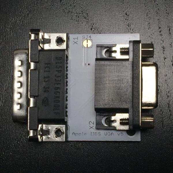 Apple IIGS VGA Adapter - Face